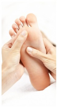 Enjoy a great massage or reflexology treatment