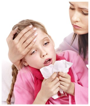 Picture of childhood allergy